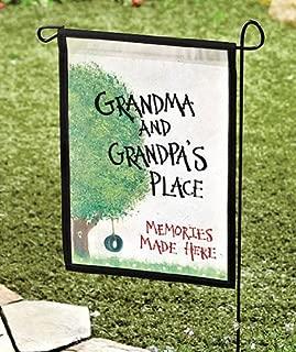 Garden Flag Grandma & Grandpa's Place 18 x 11.5