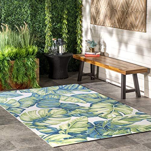 nuLOOM Lisa Floral Indoor/Outdoor Area Rug, 8' x 10', Multi
