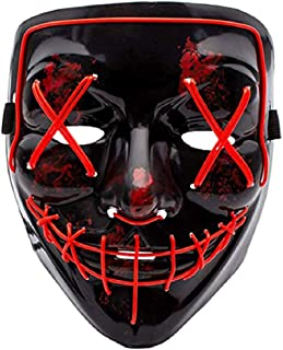 Cosplay LED Mask Light up Mask for Festival Party Halloween