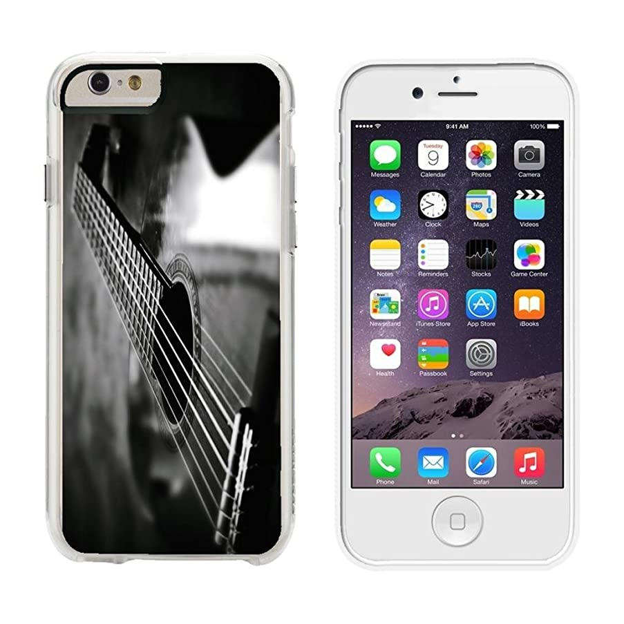 Guitar Acoustic Angle - iPhone 6 Plus Clear Cover Case