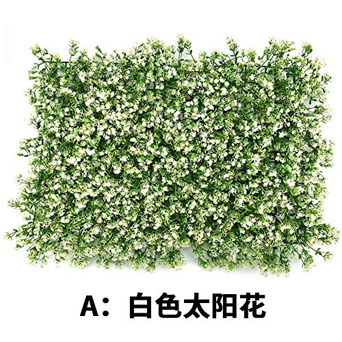 Famed Paneles de Pantalla de setos Artificiales, 60X40 cm Hiedra Artificial Hedge Screen Hedge Screening Garden Fence Panel Roll, 1 Paquete Latest Outgoing