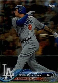 2018 Topps On Demand 3D Baseball #97 Manny Machado Los Angeles Dodgers Very Limited Print Run