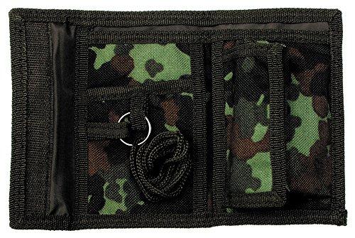 portefeuille, nylon, Velcro , Couleur:flecktarn/BW camo