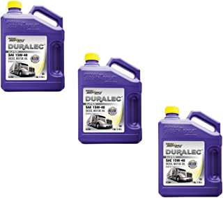 Royal Purple Duralec Ultra 15W40 Motor Oil - 1 Gallon Bottle (Pack of 3)