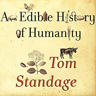 An Edible History of Humanity audiobook cover art
