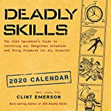 Deadly Skills 2020 Wall Calendar