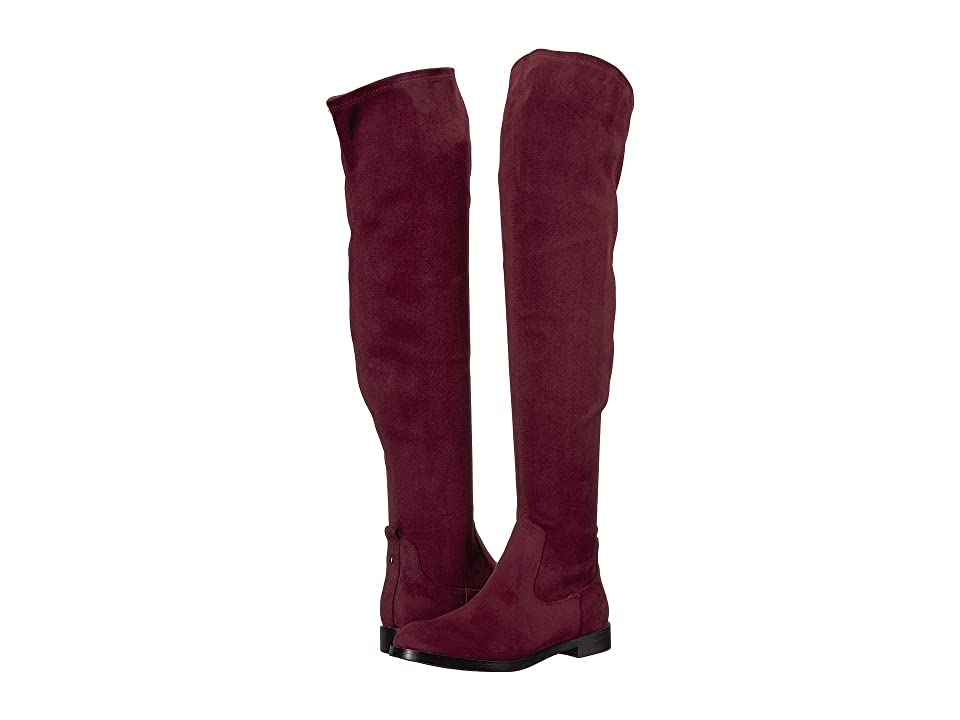 Kenneth Cole Reaction Wind-Y (Burgundy Microsuede) Women