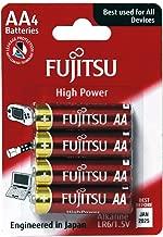 Fujitsu LR6/AA High Power Alkaline Batteries 4 Pack (Made in Japan)