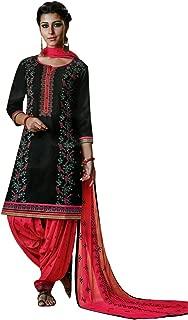 Patiala Salwar Kameez Embroidered Womens Indian Dress Ready to wear Salwar Suit