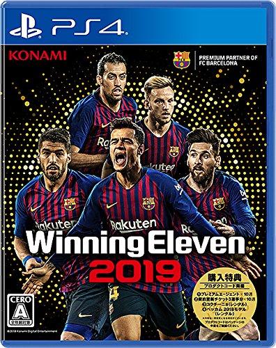 Konami Winning Eleven 2019 SONY PS4 PLAYSTATION 4 JAPANESE VERSION