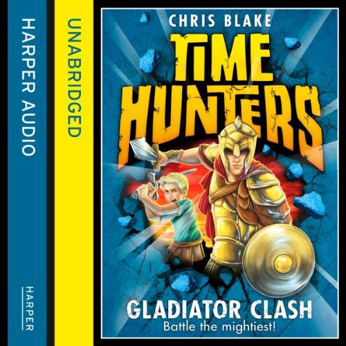 Gladiator Clash audiobook cover art