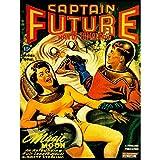 Wee Blue Coo Comic Book Cover Captain Future Man Tomorrow