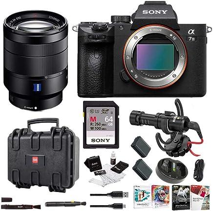 $2698 Get Sony a7 III Full Frame Mirrorless Interchangeable Lens Camera w/ 24-70mm Lens Bundle