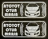 トヨタ ヴィッツ RS G's セキュリティ ステッカー t110w