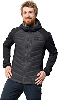 Jack Wolfskin Skyland Crossing Men's Windproof Insulated Hybrid Jacket