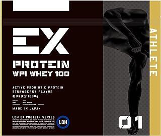 EX- ATHLETE WPI ホエイプロテイン ストロベリー風味 1kg(エクスサプリ EXSUPPLI EXILE サプリ)