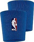 NIKE Wristbands NBA Muñequera, Unisex Adulto, Azul (Rush Blue), Talla Única