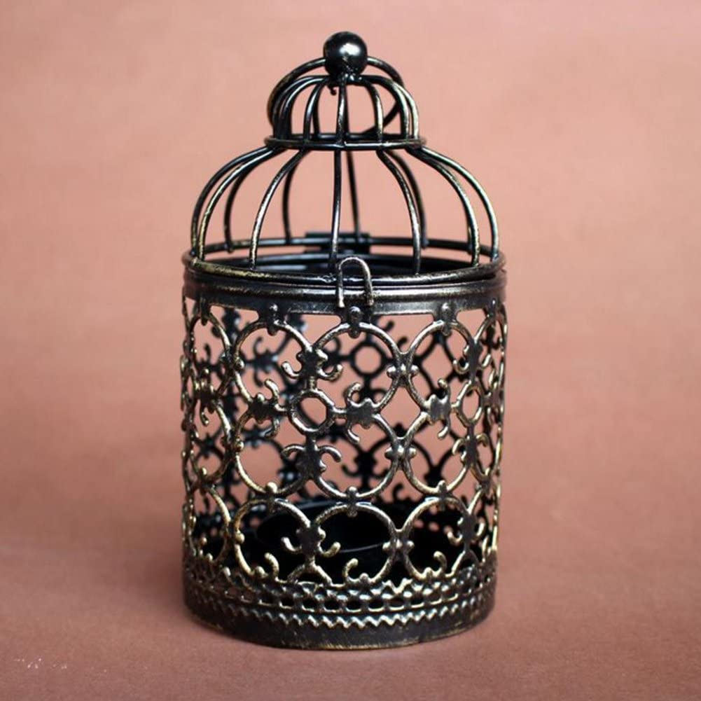 Special Campaign Zentto Metal Candle Holder Centerpiece Hollow 25% OFF Decorative Bir Out