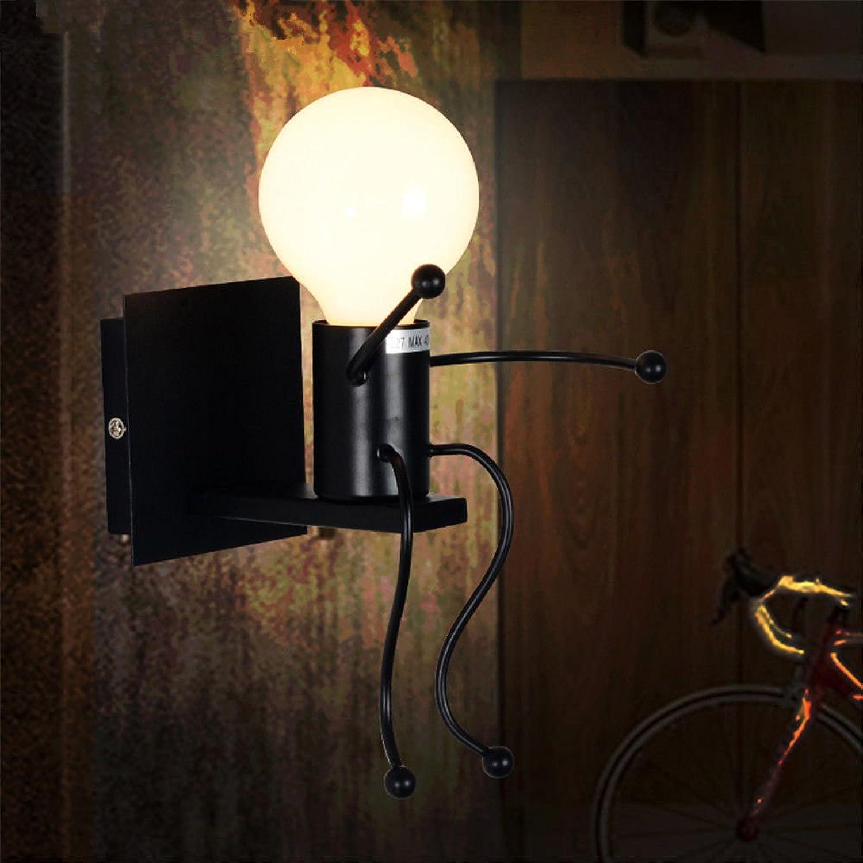 Wall lamp bracket light Wandlampe Wand Lampe Klammer Licht Wandlichter Wandbeleuchtung Sconces American Land Retro-Beleuchtung Schlafzimmer Nachttisch minimalistisch kreativ Bsewicht