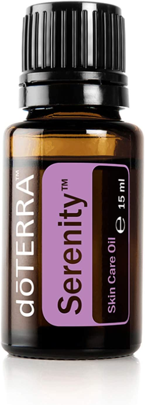Doterra Aceite esencial Serenity – Mezcla de aceite calmante (promueve el sueño), 15 ml