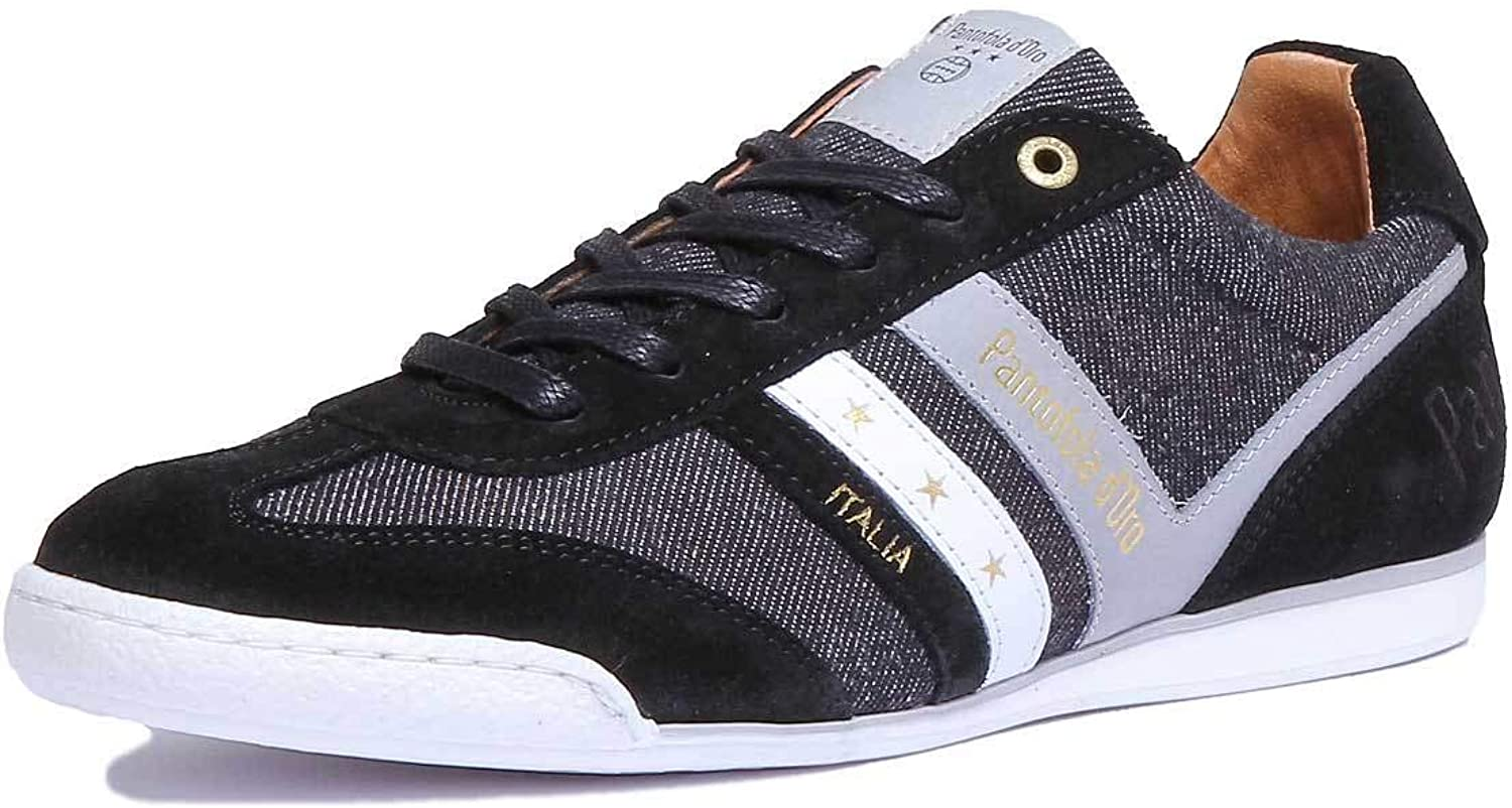 Pantofola D039;gold Vasto Trainers in Black