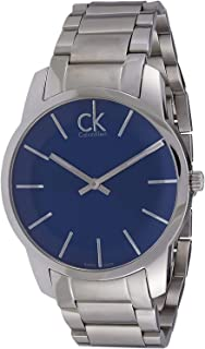 Calvin Klein Men's Black Dial Stainless Steel Band Watch - K2G21161