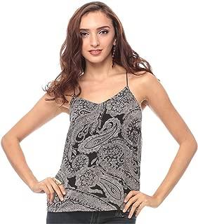 Vero Moda Polyester V Neck Cami & Strappy Top For Women