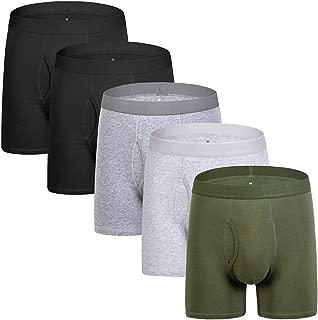 Mens Boxer Briefs Cotton Mens Underwear Men Pack Long Legs Men's Boxer Briefs S M L XL XXL