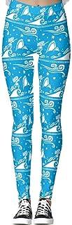 DIYCCY Yoga Pantalones Sail Leggings para mujer de cintura alta