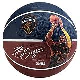 Spalding NBA Player Lebron James Sz.7 83-349Z Balón de Baloncesto, Unisex, Azul Marino, 7