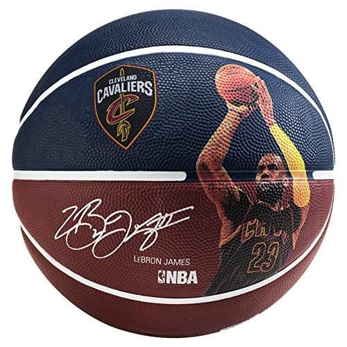 Spalding Nba Player Lebron James - Serie NBA Giocatore , Blu, 7
