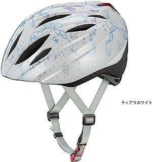 オージーケーカブト(OGK KABUTO) 自転車 ヘルメット 子ども用 BRIGHT-J1(ブライト-J1) ティアラホワイト 児童用(頭囲:55~57cm)