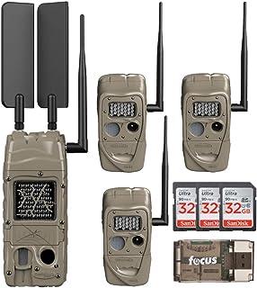 Cuddeback CuddeLink Cell Trail Camera (Verizon), Game Hunting Bundle (8 Items)