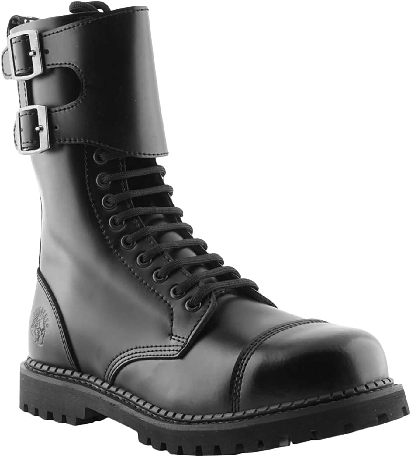 Grinders Mens Camelot Leather Boots