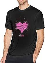 WYeter August Alsina No Love Men's Soft Tshirt Black