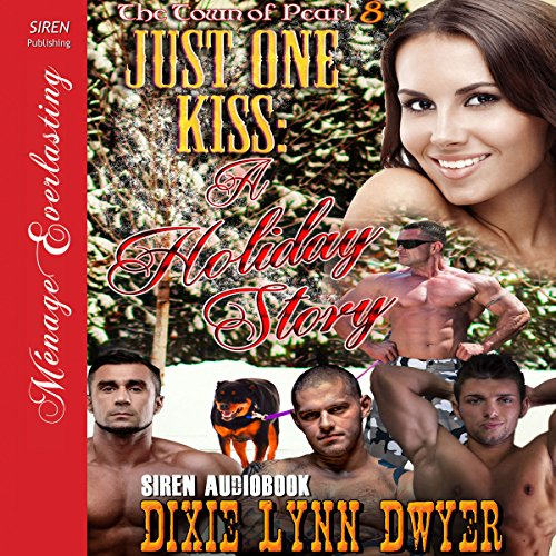 Just One Kiss: A Holiday Story audiobook cover art