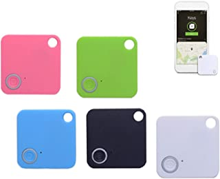 $41 » Key Finder Item Smart GPS Tracker Locator Compatible with Bluetooth Tracking Device, Anything Anti-Lost 5 Pcs