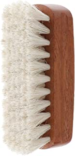 IPOTCH Horsehair Shoe Shine Brush - Horse Hair Bristles or Boots, Shoes,Leather,Cloth, Bag