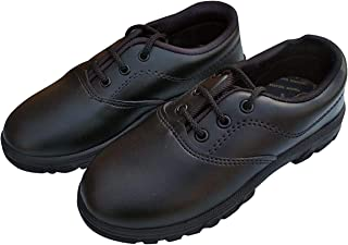 Vrinda Couture Uniform School Shoes with Laces Class Pre Nursery to 3rd Class for Boys