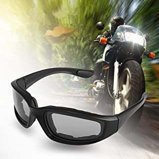 elegantstunning Motorcycle Windproof Protective Goggles Accessories Anti-Sand Riding Glasses Transparent