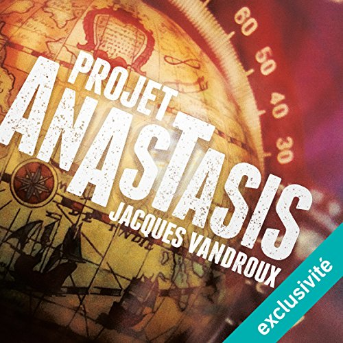 Projet Anastasis audiobook cover art