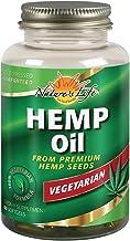 Natures Life Hemp Seed Oil, Vegetarian | W/Omega Fatty Acids | Skin Health, Heart, Brain & Mood Support | 60ct, 30 Serv