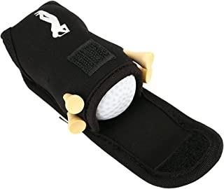 Vbestlife Golf Ball/Tee Holder,Utility Pouch Sports Golfing Accessories with 4 Tees and 2 Golf Balls