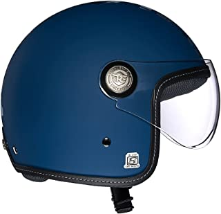 Royal Enfield Matt Lagoon Open Face with Visor Helmet Size (L)60 CM (RRGHEI000070)