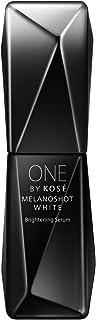ONE BY KOSE 【医药部外品】 黑色磨砂 白色 D (常规) 美容液 常规型 无色 40 毫升 (x 1)