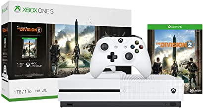 Xbox One S 1TB Console - Tom Clancy's The Division 2 Bundle (Discontinued) (Renewed)