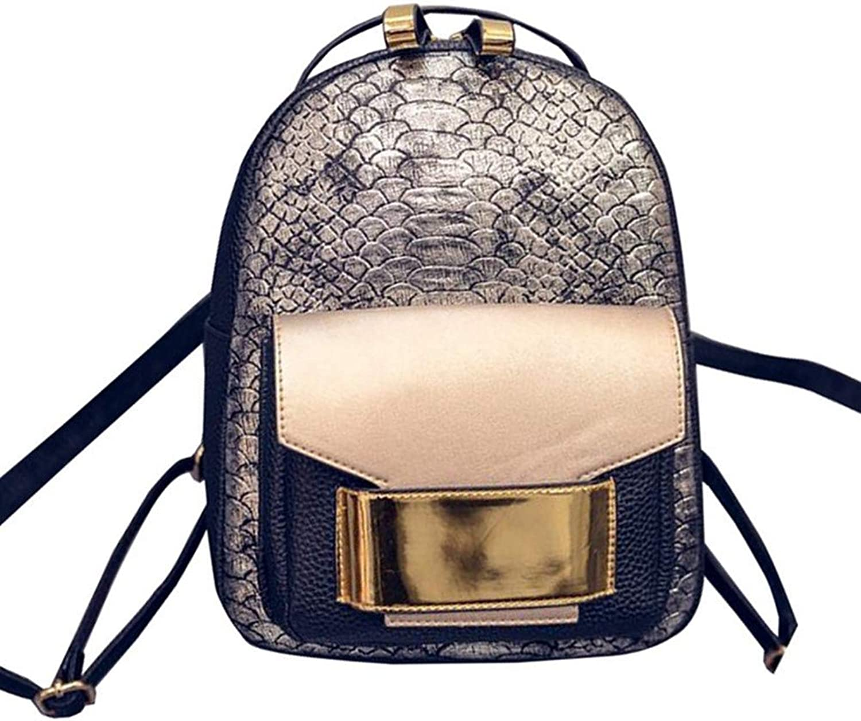 VHVCX Pu Frauen Rucksack Female Fashion Fashion Fashion Rucksack Marken-Entwerfer-Damen Back Bag Schultasche für Mädchen B07G6QMFVK  Garantiere Qualität und Quantität 467c0f