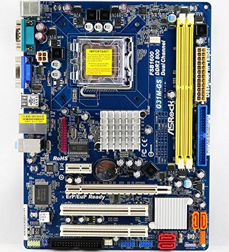 ASRock G31M-GS R2.0 Mainboard (Sockel 775, Micro ATX, DDR2) Bulkware
