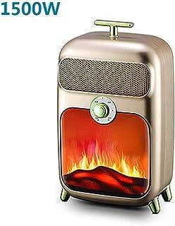 GYF Calefactor eléctrico Oscilante Calentador de espacios - ventilación forzada con calefacción Estancia de Vivienda Cool - térmica PTC de cerámica con Tip-Sobre Seguridad de corte / 2 colores disponi