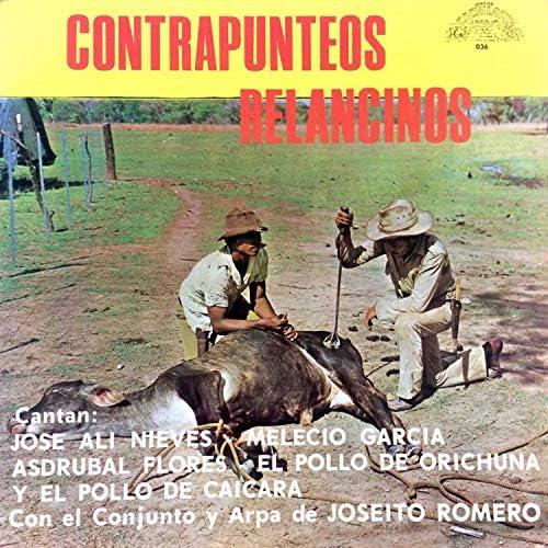 Melecio García, José Alí Nieves, El Pollo de Caicara, El Pollo de Orichuna & Asdrubal Flores